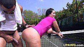 Big ass MILF Kiara Mia loves big black dick anabel and efim