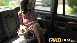 FakeTaxi Sexy milf with...