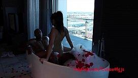 Romantic set up asian...