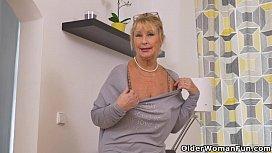 Euro granny Gigi needs...