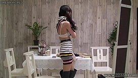 Japanese schoolgirl change uniforms...