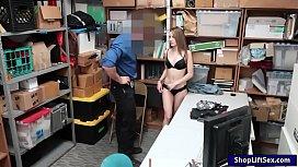 Shoplifter Kimmy Granger gets...