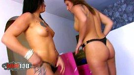 Brooke Lynn and Halana...
