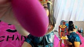 Cosplay Girl Cleopatra Gostosa...