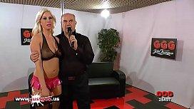 Blonde Sex Bomb Bukkake...