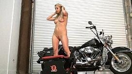 Mandy Armani rides the...