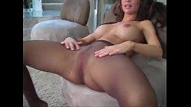 Crissy Moran pantyhose action...
