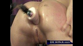 Amber Rayne anal machine...