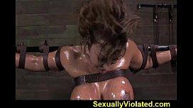 MILF Ava gets throat...