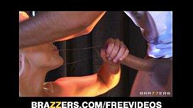 Beautiful blonde stripper grinds...