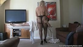 pantyhose massage big ass woman in t ...