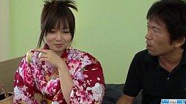 Nozomi Hazuki moans hard...