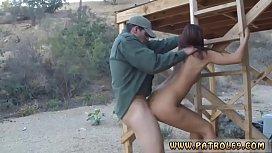Police grope Nasty border...