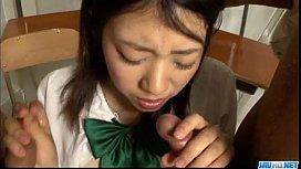 Yuri Hirayama schoolgirl in...