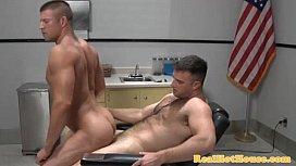 Gay muscle jock getting...