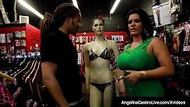 Horny Latina Angelina Castro...