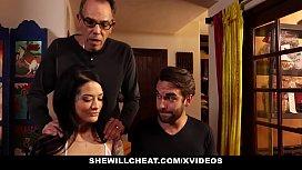 SheWillCheat - Tatted Wife Cheats...
