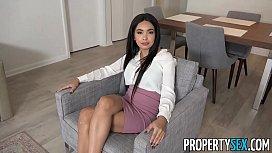 PropertySex - Sexy agent fucks...