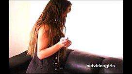 Sultry brunette amateur Violet...