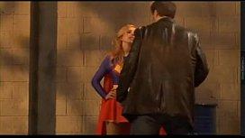 Supergirl heroine cosplay...