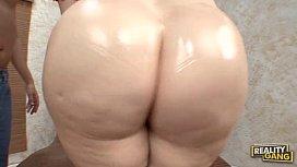 Butt fucking the huge...