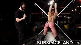 Bondage slave rough punishment...
