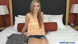 Amateur teen blonde has...