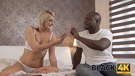 BLACK4K. Tender athletic male...