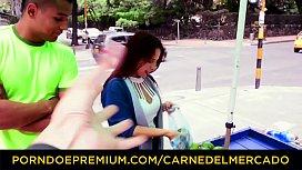 CARNE DEL MERCADO - Hot blowjob, fuc ...
