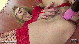 Interracial Porn - Granny likes...