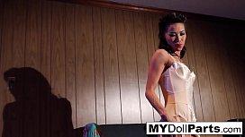 Kalina Ryu poses in the boudoir
