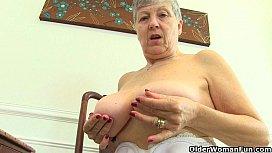 British grannies Savana and...