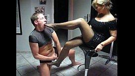 Lady b Foot Slave...