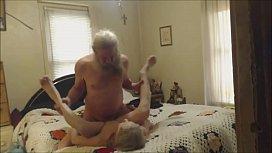 Grandma and Grandpa having...