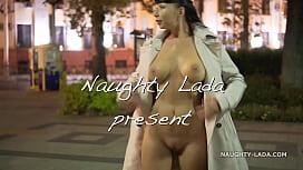Night Flashing Walk Naked In Public