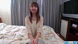Small tits Akane Okuno...