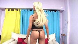 Trans Erotica - Hot Blonde T-girl Dr ...