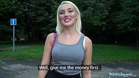 Public Agent Blonde Gets...