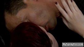 Redhead tgirl Chelsea Poe...