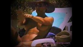 Nudist Resort Voyeur Gets...