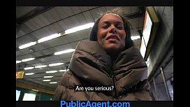 PublicAgent Short Girl gets...