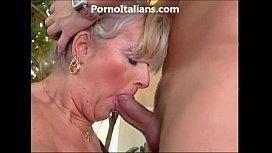 Milf blonde gets beat...