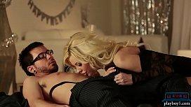 Big tits lingerie MILF...