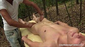Outdoor Massage Gay Blowjob...