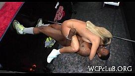 Thug drills white girl...