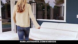 FamilyStrokes- Naughty Teens Blackmail...