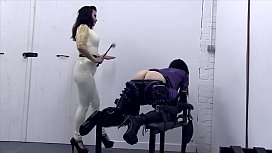Sissy servers mistress in...