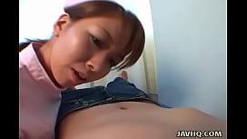 Hot nurse Aya Inazawa...