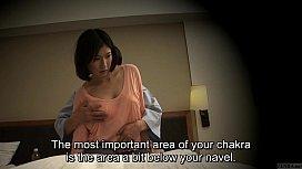 Subtitled Japanese hotel massage...