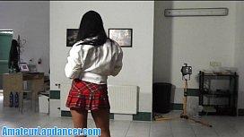 Amazing lapdance in hot...